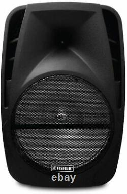 #1 15 inch Portable Bluetooth Speaker Sub woofer Heavy Bass Sound System Party