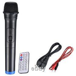 12 Portable PA Speaker Bluetooth DJ Party Promo Mic Loudspeaker Rolling Concert