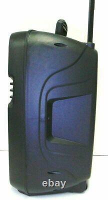 15 4600w Wireless Party Portable FM Bluetooth Speaker Subwoofer Heavy Bass