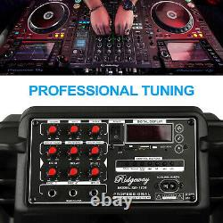 15 Rechargeable Powered Bluetooth Speaker Portable Party Heavy Bass MIC FM AUX
