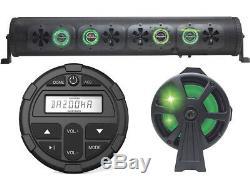 36 Bluetooth Party Bar Off Road Sound Bar LED Bazooka BPB36-G2 + Controller