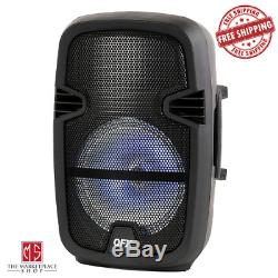 4,400 Watts Portable Party Bluetooth Speaker with Microphone & Remote