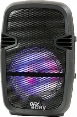 4,400 Watts Wirelessly Portable Party Bluetooth Speakers-Microphone Remote Stand