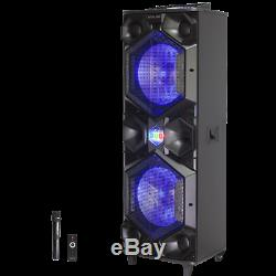ATALAX ICON Super Bass Wireless Party Speaker with Microphone