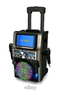 Akai Karaoke KS838-BT The Ultimate Bluetooth Party Machine, 7