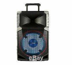 Altec Lansing Thunder Portable Waterproof Wireless Bluetooth Party Speaker