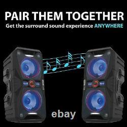Altec Lansing Wireless Bluetooth Waterproof Party Speakers ALP-AP850 Refurbished