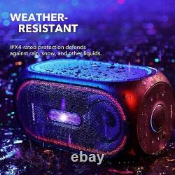 Anker Soundcore Rave Portable Party Speaker With 107Db Sound, Light Show