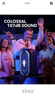 Anker Soundcore Rave Portable Party Speaker with 107dB Sound, Light Show, 160w