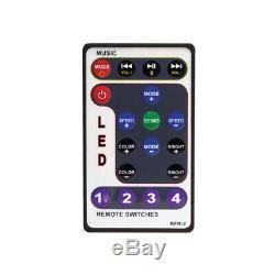 Bazooka 24 Bluetooth Party Bar Off Road Sound Bar and LED Illumination System