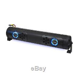 Bazooka 24 Double Sided Bluetooth Party Bar with LED, with Light Bar 20 126W