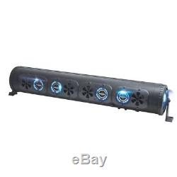 Bazooka 36 450-Watt Bluetooth G2 Party Bar with LED System