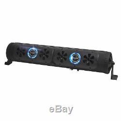Bazooka BPB24-G2 24-Inch Bluetooth G2 Party Bar with LED Illumination System