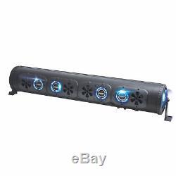 Bazooka BPB36-G2 36-Inch Bluetooth G2 Party Bar with LED Illumination System
