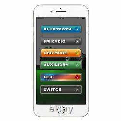 Bazooka BPB36-G2 Bluetooth Party Bar Soundbar 450w RGB LED's UTV Boat Golf Cart