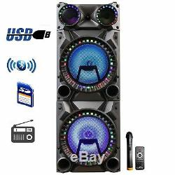 Befree Bfs-9160 12 Dual Subwoofer Bluetooth Portable Dj Pa Party Speaker