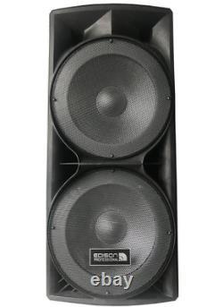 Bluetooth Party Speaker M7000 Dual 15 Edison Professional High Power 6000W