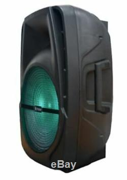 Bluetooth Power Loud Party Speaker Remote Controlled 15 Woofer Multi-function