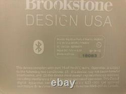 Brookstone Big Blue Party Bluetooth Speaker 952645 (NO CHARGER)