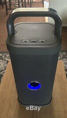 Brookstone Big Blue Party Bluetooth Speaker Silver