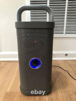 Brookstone Big Blue Party Bluetooth Speaker With Charger Great Condition