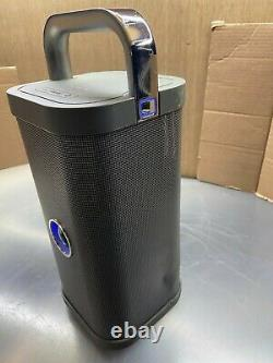 Brookstone Big Blue Party Bluetooth Speaker Working Tested