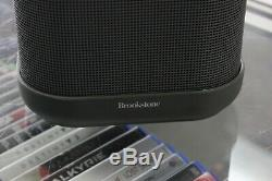 Brookstone Big Blue Party Bluetooth Speaker with Charger