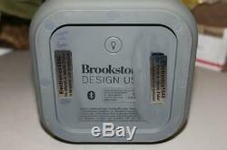 Brookstone Big Blue Party Indoor-Outdoor Bluetooth Speaker