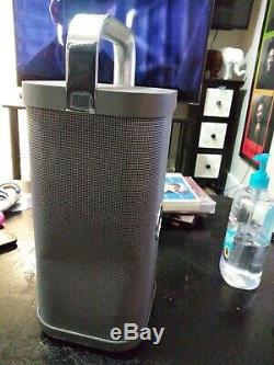 Brookstone Big Blue Party Indoor-Outdoor Bluetooth Speaker. NO CHARGING CABLE