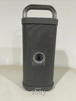Brookstone Big Blue Party Indoor / Outdoor Bluetooth Speaker Open Box Never Used