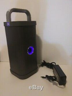 Brookstone Big Blue Party Indoor-Outdoor Bluetooth Speaker - RARE