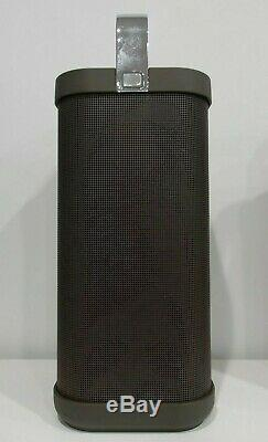 Brookstone Big Blue Party Indoor-Outdoor Bluetooth Speaker Tested Working
