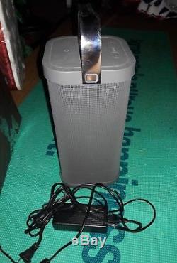 Brookstone Big Blue Party Indoor-outdoor Bluetooth Speaker excellent