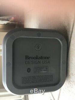 Brookstone Design USA Big Blue Party Bluetooth Speaker Works Great