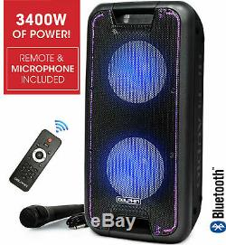 Dolphin 3400W Bluetooth Tailgate Rechargeable Party Speaker System + WaveSync