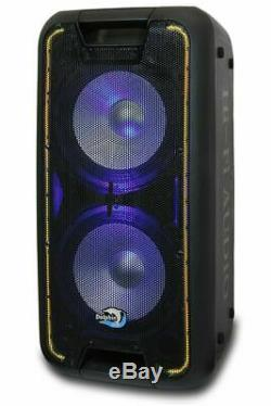Dolphin SP-210RBT Rechargeable Karaoke Party Speaker System with Bluetooth 3400W