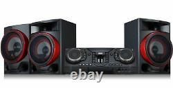 Hi Fi Sound System 2900W Powerful Bass Bluetooth Karaoke Party Audio CD Radio