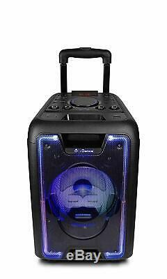 IDance Megabox 1000, 200W Portable Bluetooth Sound and Light Party System