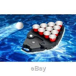 ION Audio Party Float Bluetooth Speaker Floating Waterproof LED Light Pool Radio