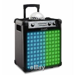 ION Audio Party Rocker Max Bluetooth 100W Speaker with Mic IPA73P NEW