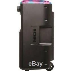 ION Block Party Ultra 120W Bluetooth Karaoke Party Speaker