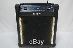 ION Block Rocker Max Bluetooth Speaker Karaoke Party Sound