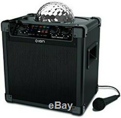 ION IPA73 Party Rocker Max 100W Bluetooth Speaker Portable Rechageable Multi-Eff