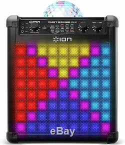 ION Party Rocker Max Portable Rechargeable Wireless Bluetooth Speaker