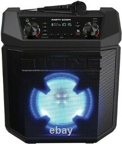 ION iPA101 Party Boom Bluetooth Wireless 100 Watt Speaker 50 HourBatte