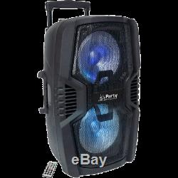 Ibiza Sound 600W Bluetooth Portable Rechargeable PA Speaker System 2x10 USB