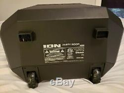 Ion Audio Party Boom Bluetooth Wireless Speaker System 100-Watt Color-Changing