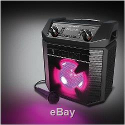 Ion Audio Party Boom Portable BLUETOOTH Audio System Speaker