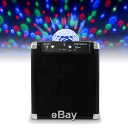 Ion Audio Party Rocker Bluetooth Portable Sound System with Microphone Built-In