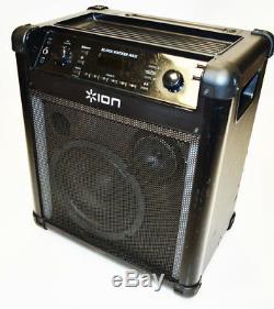 Ion Block Rocker Max Bluetooth Speaker Karaoke Party Sound IPA76C2 Excellent